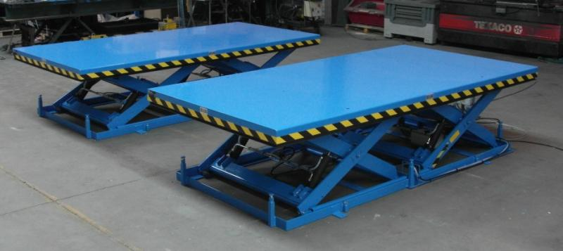 Table l vatrice 4000 kg for Table elevatrice